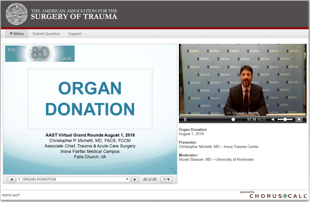 Organ Donation - The American Association for the Surgery of Trauma